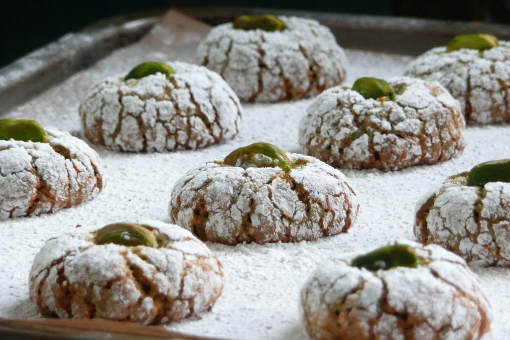 Sicilian Pistachio Cookies Recipe — Dishmaps