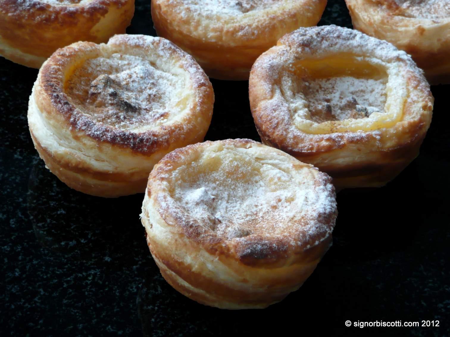 Portuguese Custard Tarts | signor biscotti